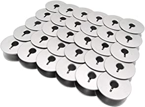 ckpsms Brand - #18034AS Aluminum Bobbins with Slot FIT for Pfaff Grand Quilter 18