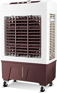 GXFC Enfriador Evaporativo, Climatizador portatil, Ventilador, Humidificador, Purificador De Aire, Velocidad del Viento 3, Tanque de Agua Grande 35L, Bajo Consumo de energía 150W, Oficina/casa