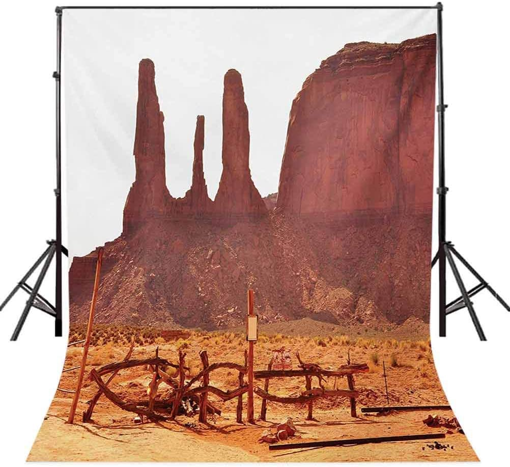 Driftwood 6x8 FT Photo Backdrops,A Tree on The Arid Land Terrain and Driftwood Cloudy Sky Digital Image Background for Baby Shower Birthday Wedding Bridal Shower Party Decoration Photo Studio