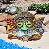 Miniature Fairy Garden Tiki Mask Planter
