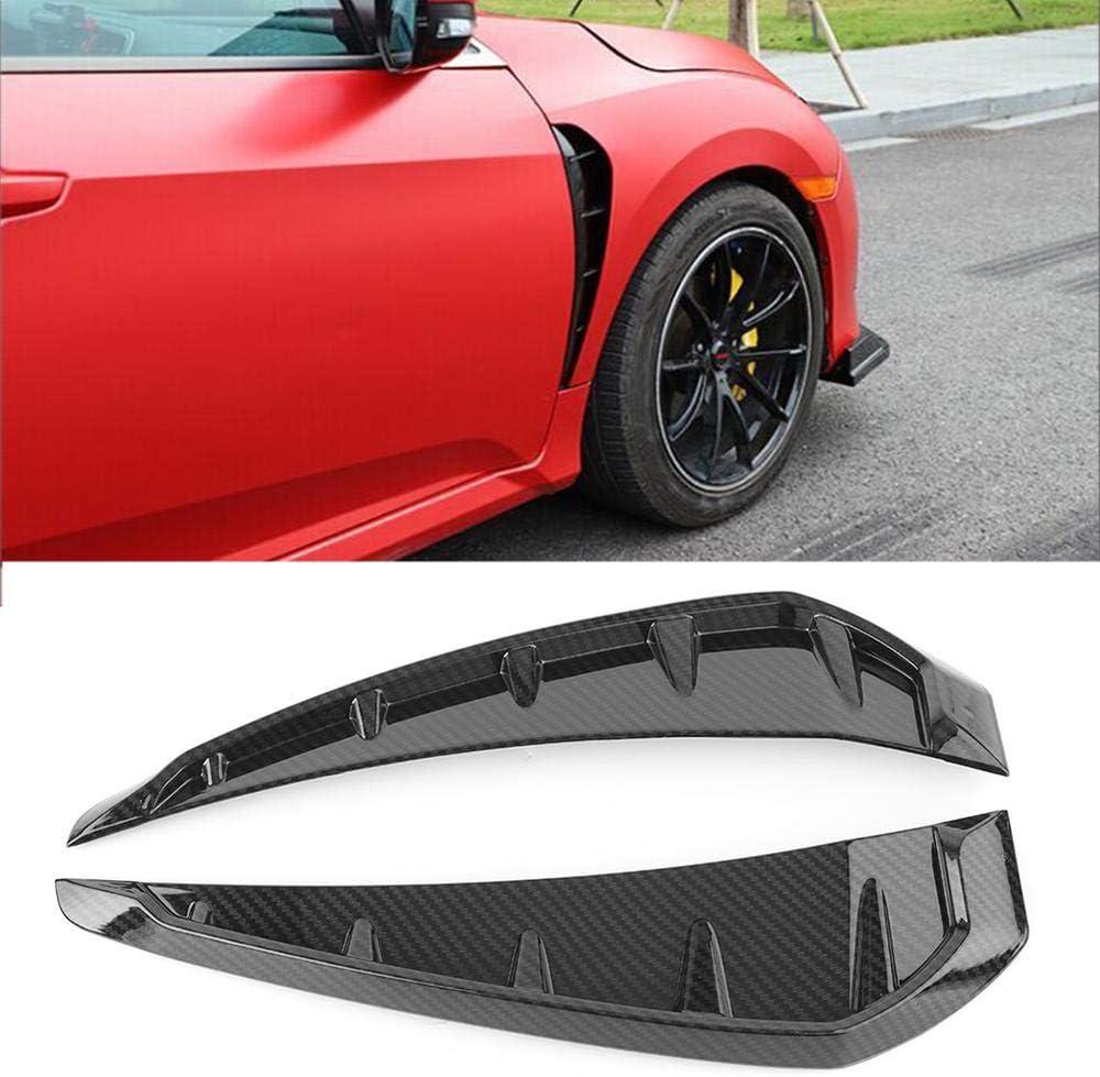 Three T Carbon Fiber Car Shark Grille Co Air Side Mesh Flow Vent ...