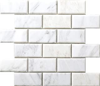 Emser Tile M05WINTFR1212MBV Winter Frost Bevel Mo/1212 Ceramic Tiles 2
