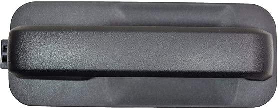 PT Auto Warehouse FO-3515A-RRK - Exterior Outer Outside Door Handle, Textured Black - Rear Right Passenger Side