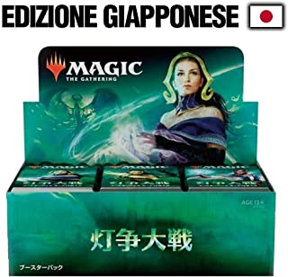MTG Magic The Gathering WAR of The Spark Booster Box rare JAPANESE version!