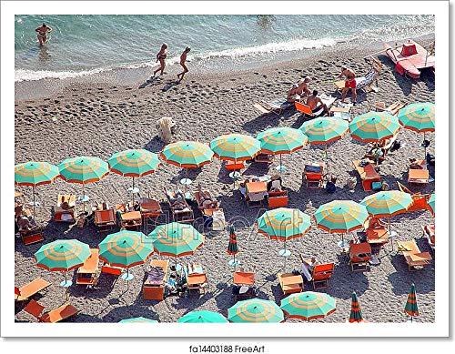 Barewalls Amalfi Coast, Italy Paper Print Wall Art (12in. x 16in.)