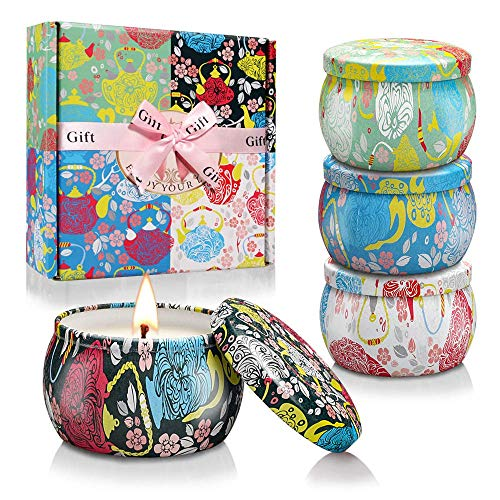LiYR Ethnic Scented Candle Scented Candle Gift Box Set For Relieving Fatigue, Bathing, Yoga Candles