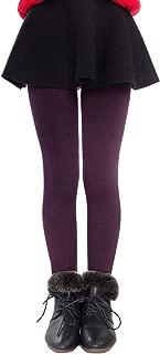 Tengo Girls Winter Warm Fleece Lined Elastic Waist Thick Leggings