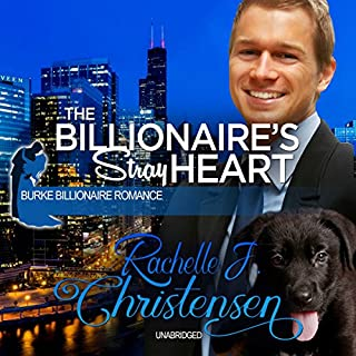 The Billionaire's Stray Heart audiobook cover art