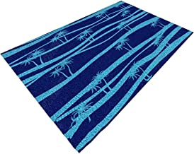 YANZHEN Hallway Runner Rugs Non-Slip Soft Corridor 8mm Thick Blue Blended Fabric, Multi-Size, Length Customization (Color ...