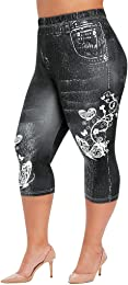 ALISIAM Legging De Sport Femme Taille Haute avec P