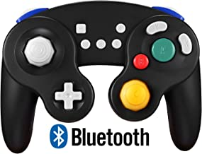 Exlene Wireless Gamecube Controller Switch, Compatible with Nintendo Switch and PC, Rechargeable, Motion Controls, Rumble,...