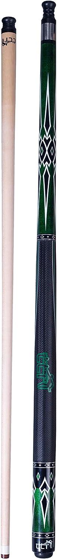 4 Colors, 18-21oz LING LI TE LLT Canadian Maple Dyed Leather Pool Cue