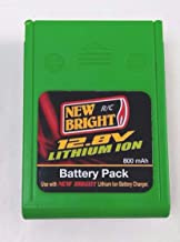 12.8V New Bright Rechargeable Battery Pack 800mah Lithium Ion BATTERY ONLY