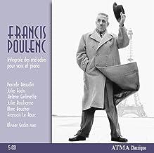 Poulenc: Intégrales des mélodies pour voix et piano