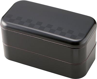 お弁当箱 サイズランチ スタック スクエアランチ ブラック 600ml T-36158