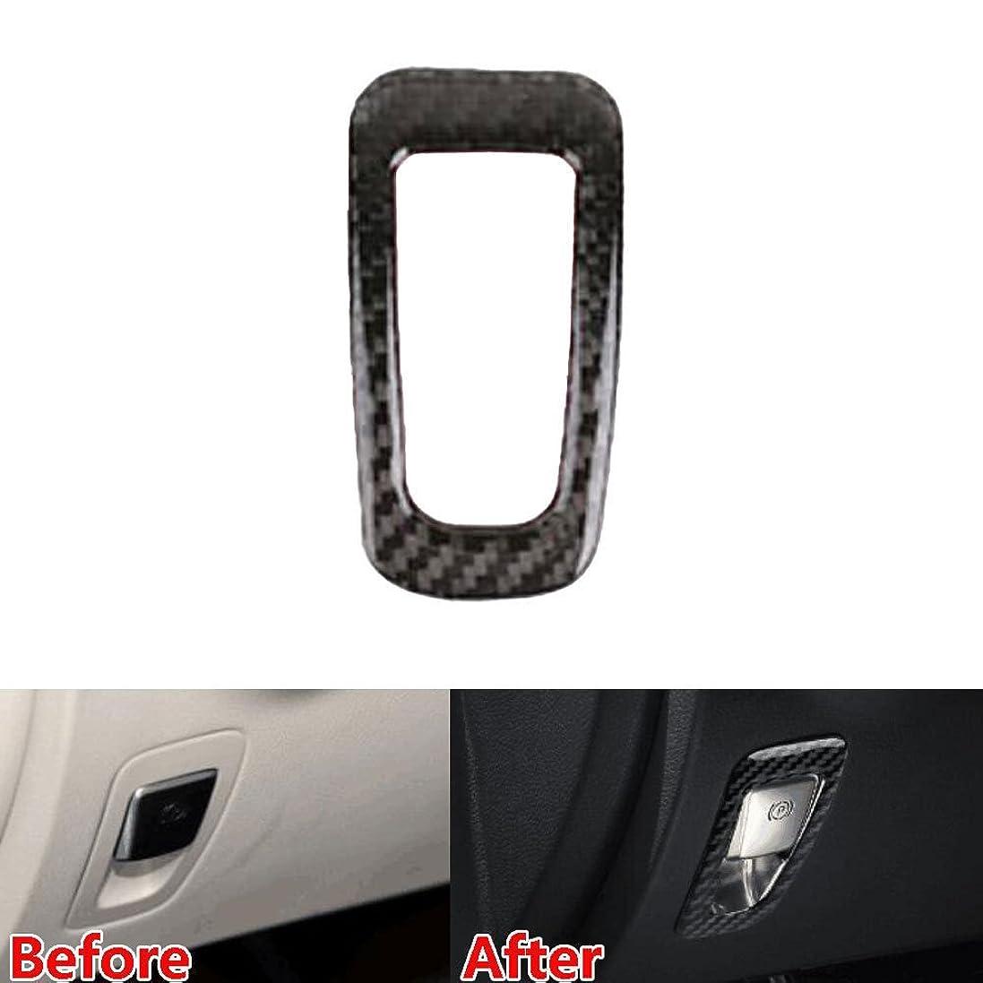 ハンバーガー虚栄心修羅場Jicorzo - Car Electronic Handbrake Frame Cover Trim Decor Interior Car-Styling Sticker For Mercedes Benz GLA Class 2016 17 Car Accessories