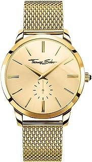 THOMAS SABO Men's TWA0263 Year-Round Analog Quartz Yellow Gold Watch