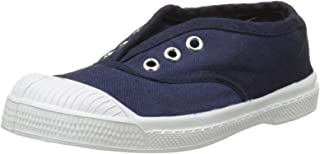 Tennis with Eyelets and Elastic Children Blue (Marine)