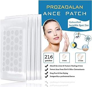 Acne-pleisters, 216 stks onzichtbare hydrocolloïde absorberende puistjes, acne-behandelingen spot-patches acnestickers acn...