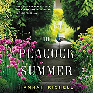 The Peacock Summer audiobook cover art