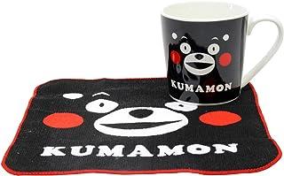 畑山商事(Hatakeyamashoji) マグカップ くまモン マグサイズ:約高さ80×直径75mm タオルサイズ:約H200×W200mm マグ タオルセット くまモン B 31698380