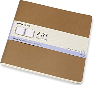 Moleskine Art Cahier Sketch Album Blocco da Disegno, Carta per Matite, Carboncino, Penne Stilografiche e Pennarelli, Forma...