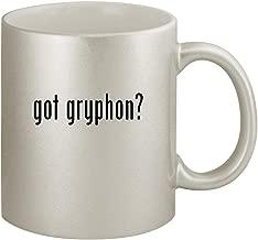 got gryphon? - Ceramic 11oz Silver Coffee Mug, Silver