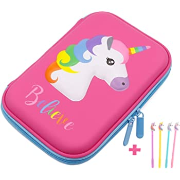 Unicorns Hearts etc Reds Jumbo Pen Assorted Pick one from four designs Pinks