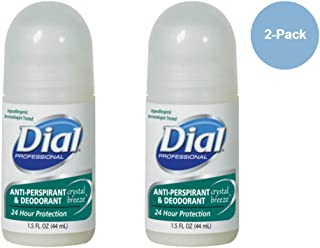 Dial Crystal Breeze 24 Hour Anti-perspirant and Deodorant 1.5 Fl. Oz. (Pck of 2)