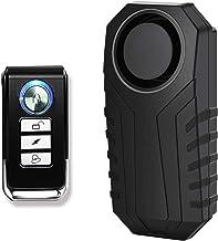GREENCYCLE 1 Pack IP55 ضد آب بی سیم 113dB لرزش سنسور دزدگیر سنسور زنگ برای سه چرخه برقی دوچرخه با کنترل از راه دور