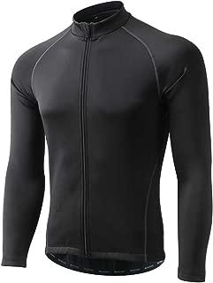 DuShow Men Winter Cycling Jacket Fleece Thermal Windproof Waterproof Bicycle Coat Running Jacket