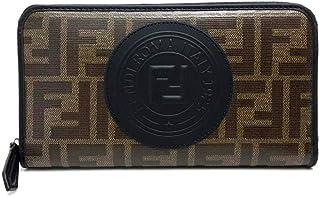 (フェンディ)FENDI 7M0210-A5K4 FFロゴ スタンプ アップリケ 長財布(小銭入れあり) PVC×レザー レディース 未使用 中古