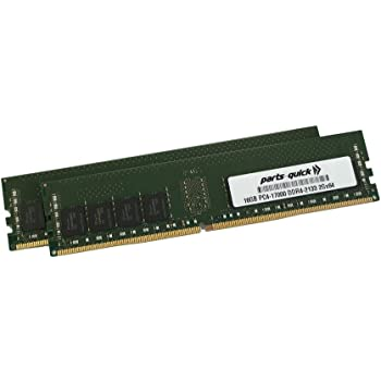 PARTS-QUICK Brand 16GB Memory for HP ProDesk 600 G2 Small Form Factor DDR4 2133MHz DIMM RAM