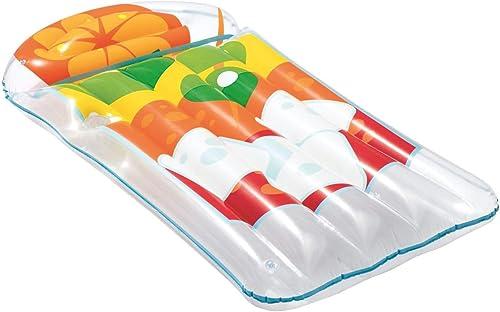 Bouée Gonflable,Géant Gonflable Paon Piscine Flotteur, Fun plage floacravates, Nager Jouets de fête, été Piscine Raft Lounge pour Adultes Enfants