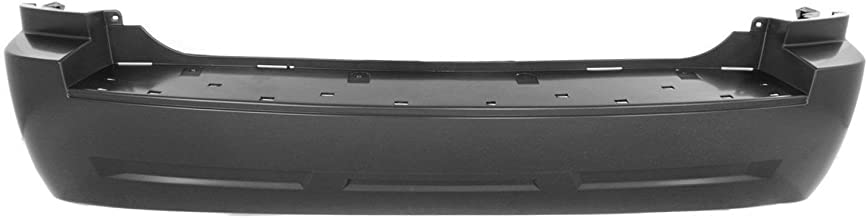 MBI AUTO - Painted to Match, Rear Bumper Cover for 2005-2010 Jeep Grand Cherokee 05-10, CH1100865