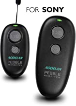 AODELAN Wireless Shutter Release Camera Remote for Sony a7 III, a7 II, a7, a7R III, a9, a6000, a6300, a5000, a5100, RX100 III, RX10M2, Replaces Sony RM-L1AM and RM-SPR1