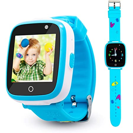 Smart Watch for Kids Boys, Touch Screen Kids Smart Watch with Dual Camera, 6 Games, Call SOS, Music Player, Alarm Clock, Christmas Birthday Gift Toys for 3-10 Year Old Boys and Girls