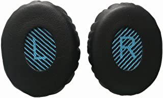 HSZJsto Ear Pad Replacement Ear Cushions Kit for Bose OE2 OE2i Sound Link On-Ear Headphones, Black