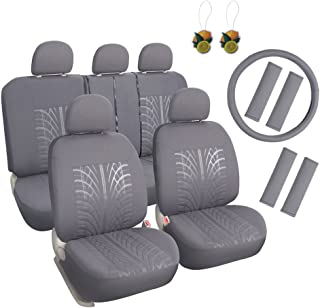 Best grey car seat covers Reviews