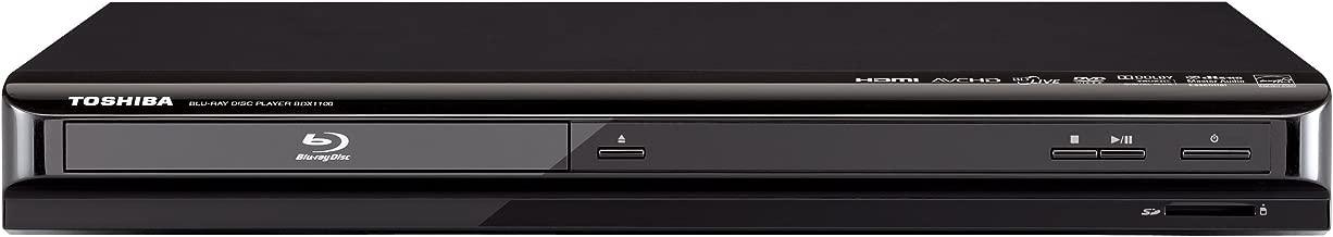 Toshiba BDX1100 1080p Blu-ray Disc Player, Black