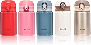 Diller FMH8717 - Botella isotérmica (300 ml), Blanco, 300ml