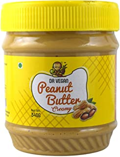 Dr Vegan Peanut Butter, 340 G, Chocolate and Creamy Combo - Made from Real Roasted Peanuts, Keto , Rich in Protein (Pack of 2)