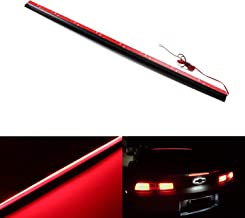 iJDMTOY Above Rear Windshield 36-Inch Rigid Full LED 3rd Brake Light Strip Assembly, Universal Fit, Just Like A7 6-Series Style Roofline LED Brake