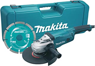 Makita GA9020KD/1 110V 230mm Angle Grinder Complete with Diamond Blade Supplied in A Carry Case