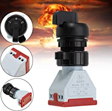 COMPANY LILI 220V Explosion-Proof Third-Choice Switch Button Switch for Electrical Equipments