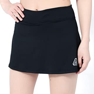 DOMICARE Women Pleated Active Athletic Skorts with Pockets, Lightweight Tennis Golf Skirts for Running Workout