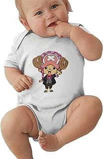 Boys Girls Baby Chopper Cotton Short-Sleeve Infant Bodysuit