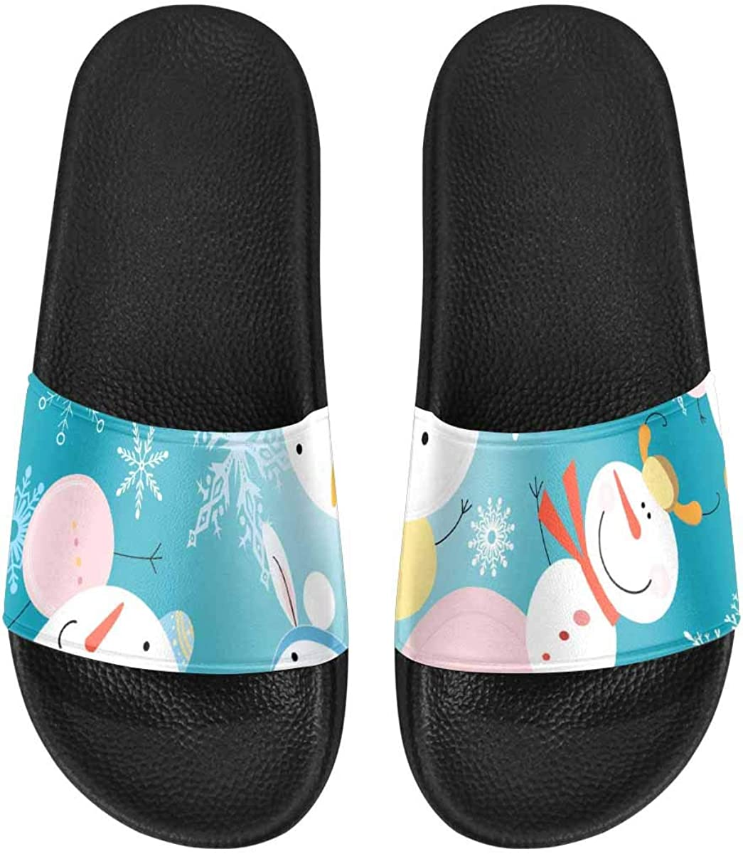 InterestPrint Women's Outdoor Sandals Breathable and Comfortable Bones and Balls Pattern
