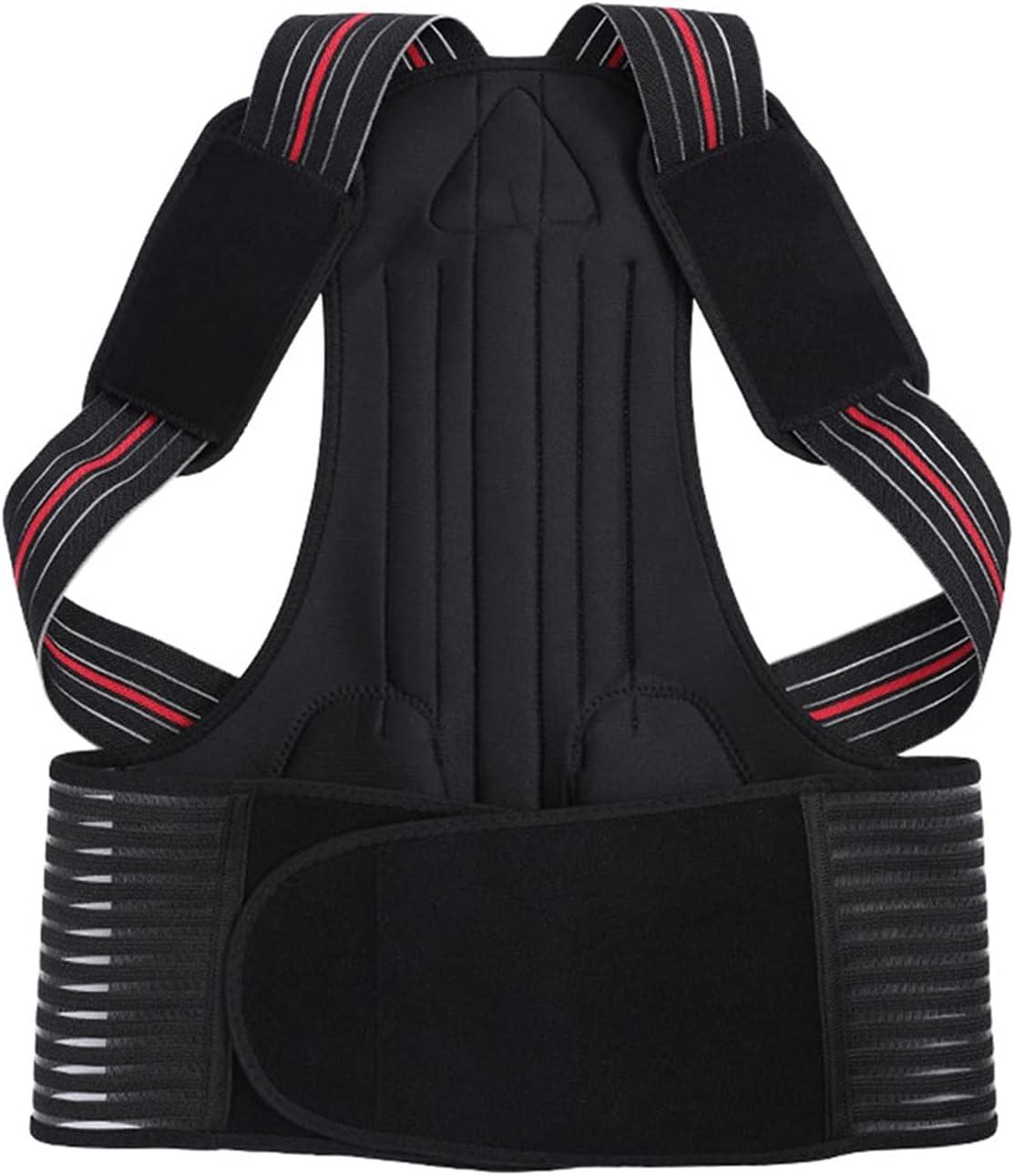 Tll-mm Posture Corrector Women's and Back Brac 4 years warranty Adjustable Popular Men's