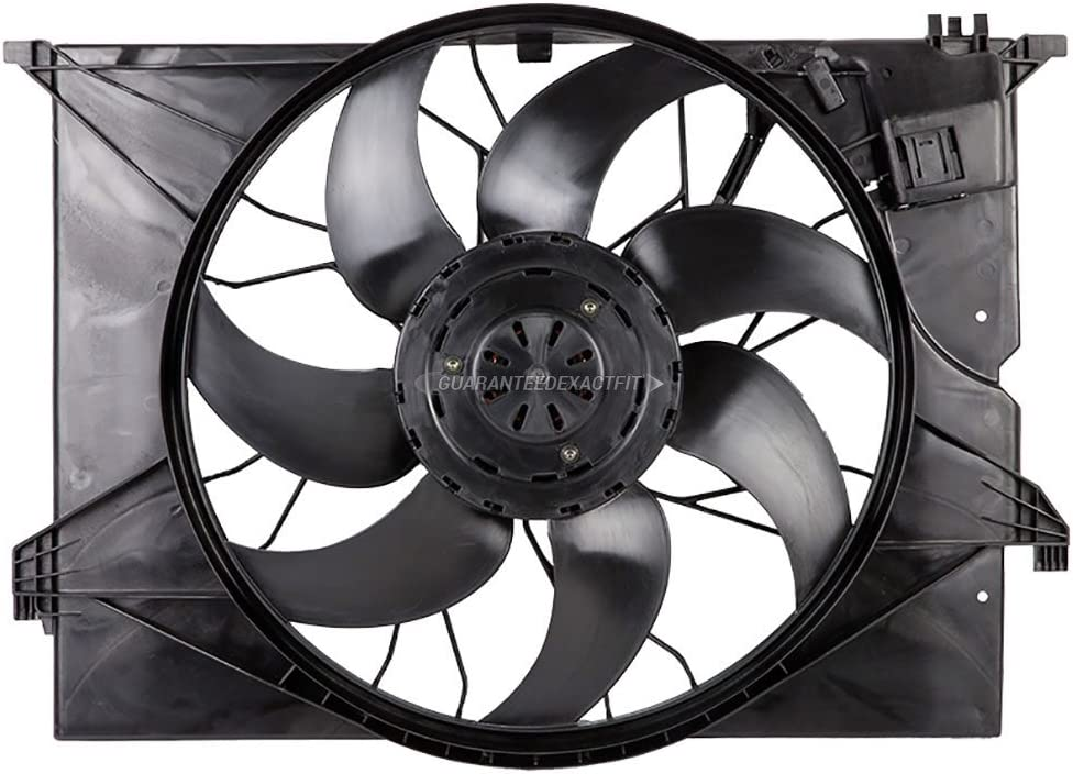 Cooling Fan Assembly For Mercedes S550 W2 S350 S400 CL550 Max Oklahoma City Mall 51% OFF S450